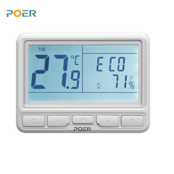 PYOG - TechHome : POER WiFi Thermostat