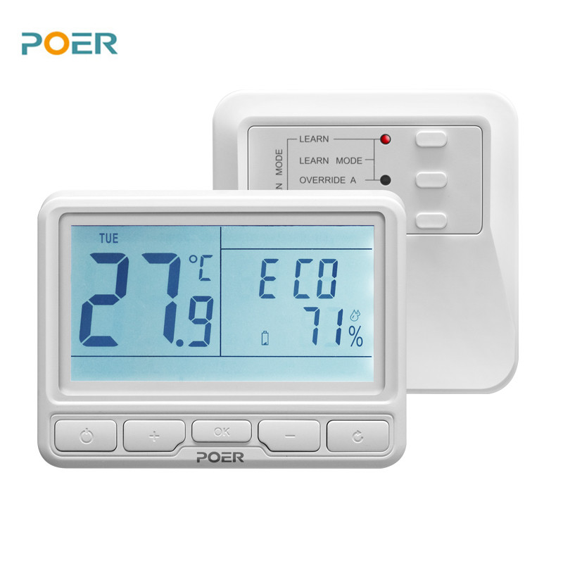 PYOG - TechHome : POER WiFi Thermostat Lit