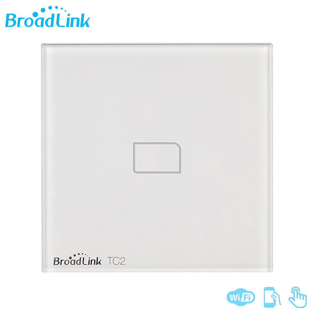 Tech Home – Smart Light Switch Touch Panel w/ Wifi Wireless Access ...